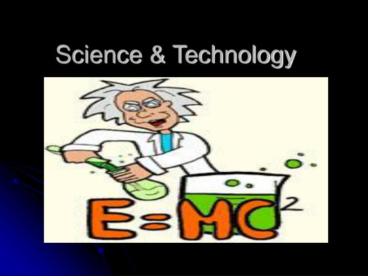 science technology n.