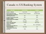 canada vs us banking system