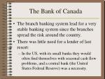 the bank of canada1