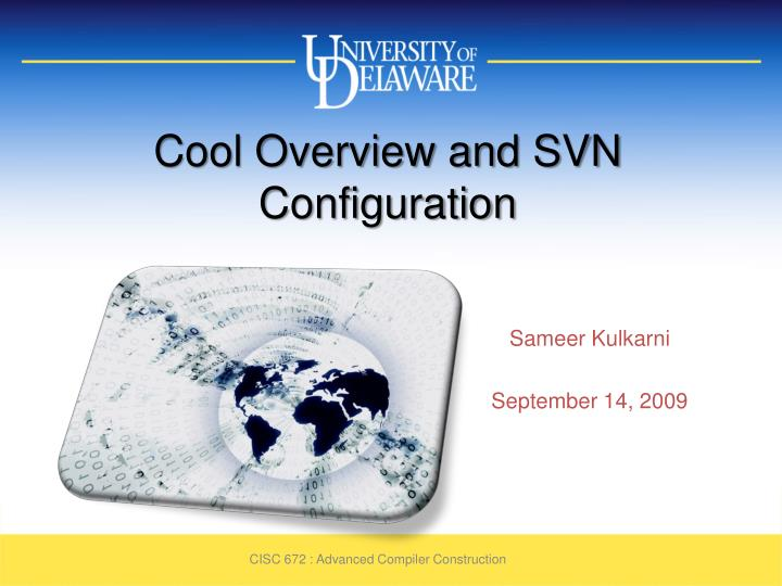cool overview and svn configuration n.