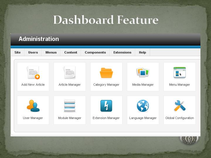 Dashboard Feature
