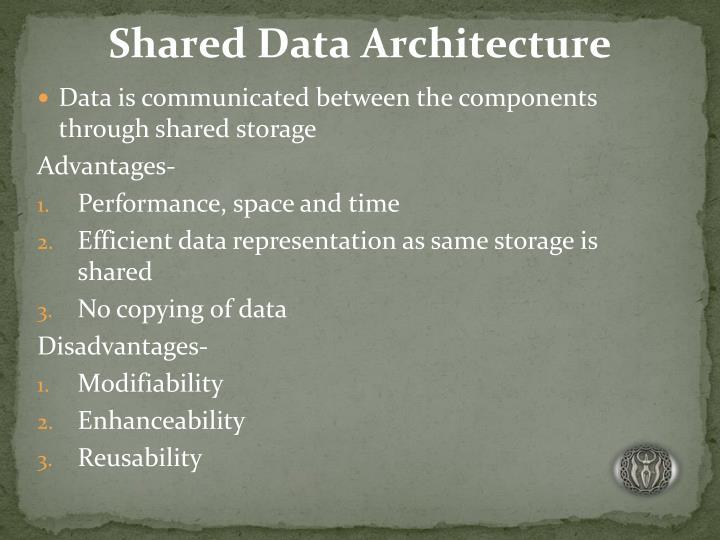 Shared Data Architecture