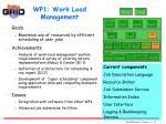 wp1 work load management