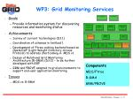 wp3 grid monitoring services