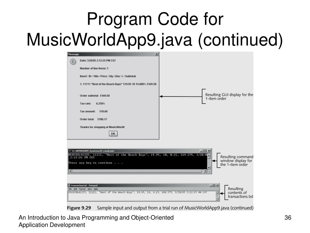 PPT - An Introduction to Java Programming and Object-Oriented