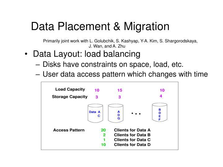 Data Placement & Migration