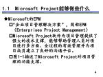 1 1 microsoft project