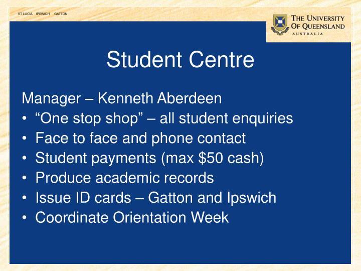 Student Centre