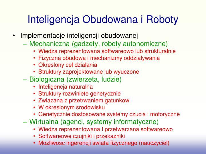 Inteligencja obudowana i roboty