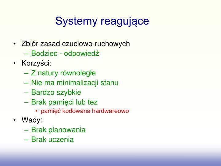Systemy reagujące