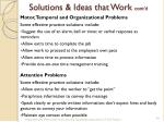solutions ideas that work cont d2