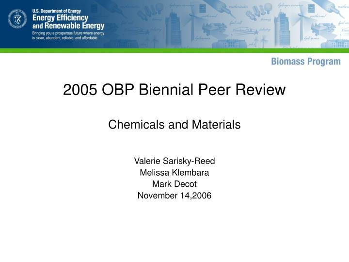 2005 obp biennial peer review n.