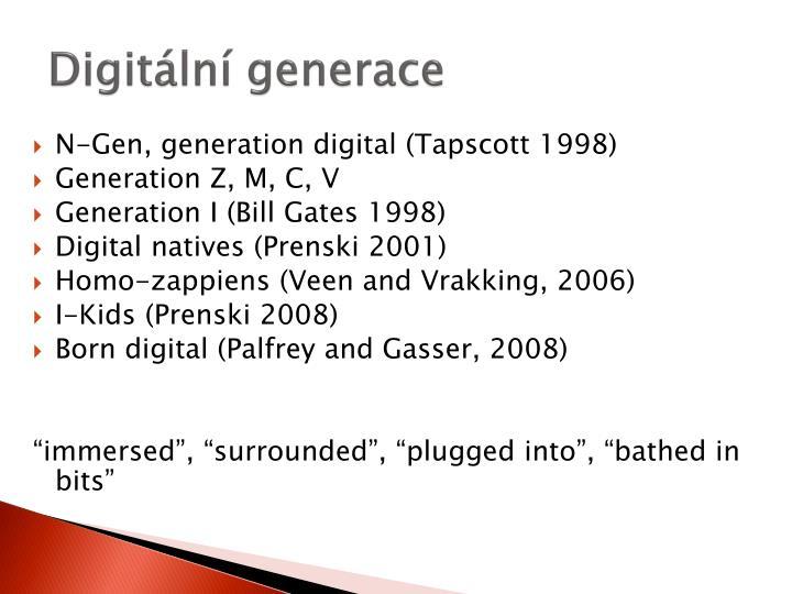 Digit ln generace