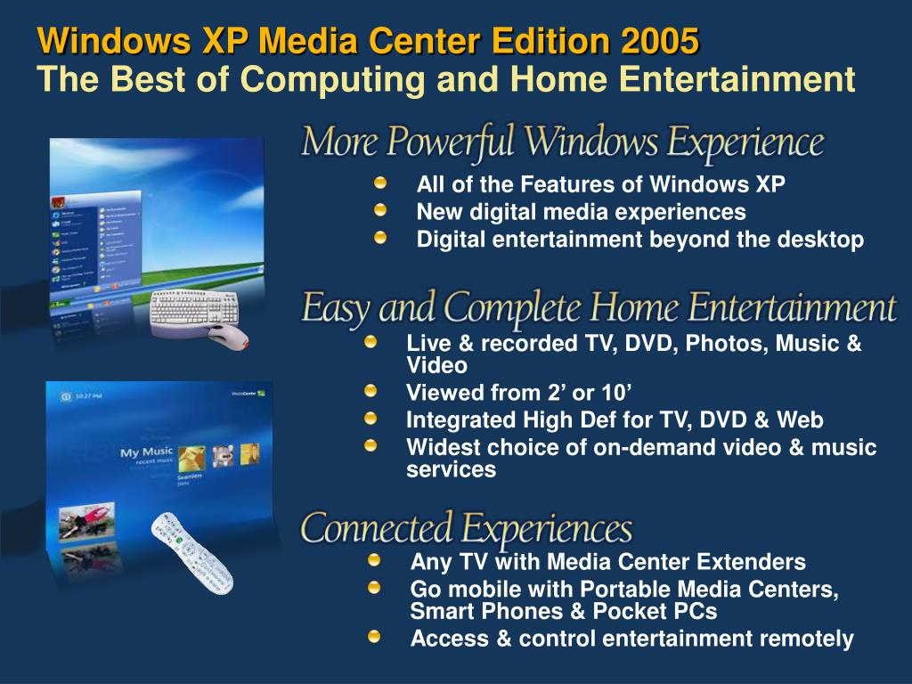 PPT - Media Center Directions And Partner Opportunities