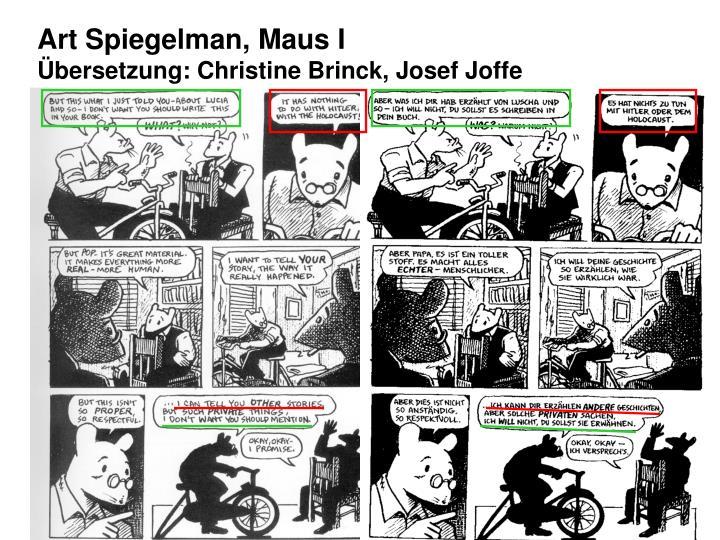 Art Spiegelman, Maus I