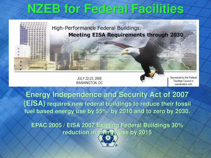 NZEB for Federal Facilities