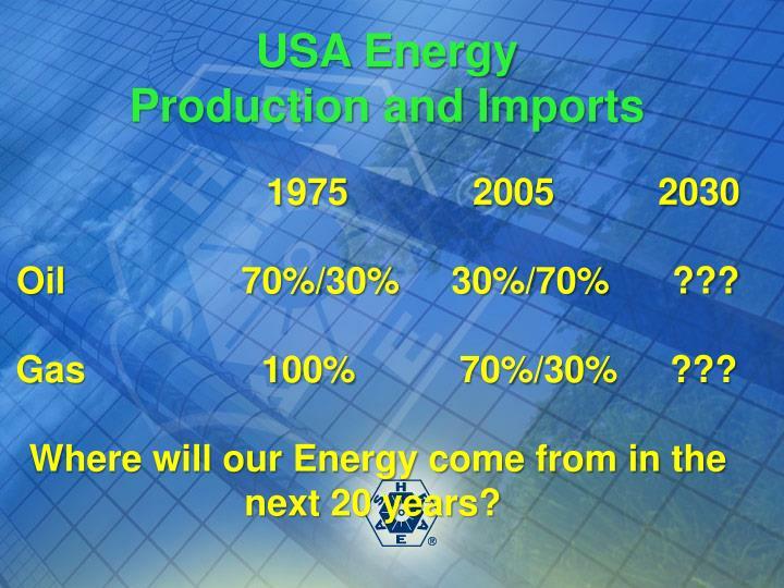 USA Energy