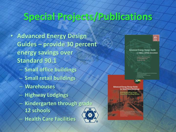 Special Projects/Publications