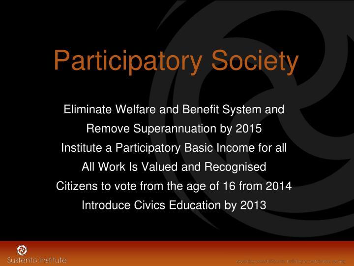 Participatory Society