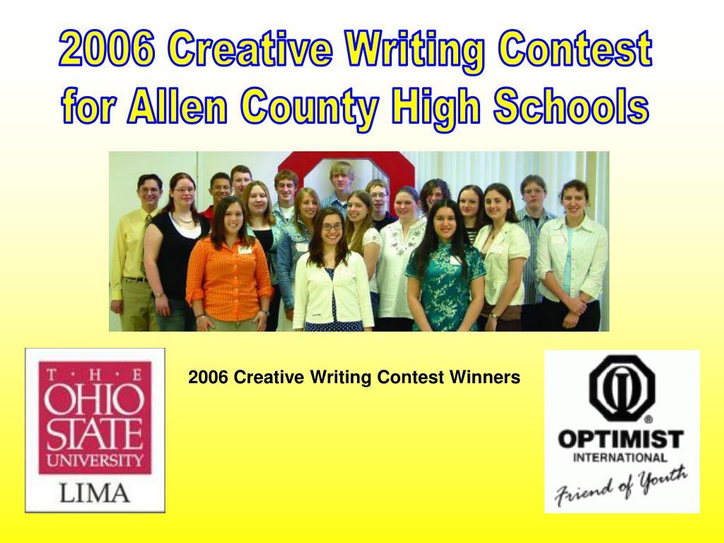 creative writing high schools