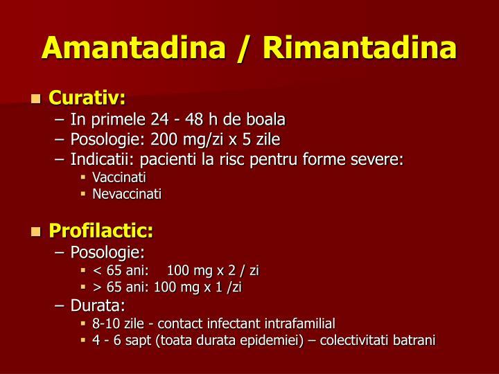 Amantadina / Rimantadina