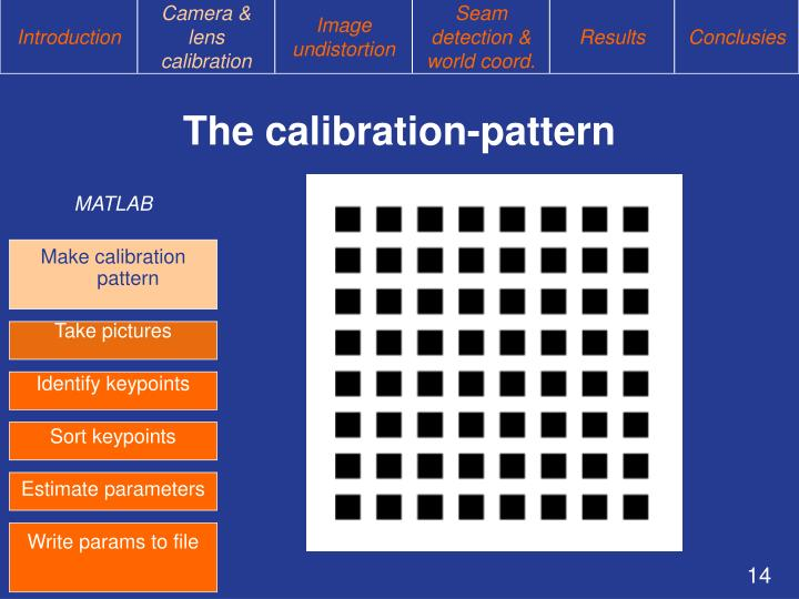 The calibration-pattern