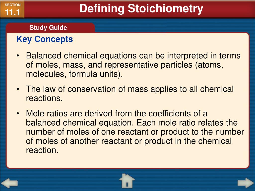 PPT - Chapter 11: Stoichiometry PowerPoint Presentation - ID