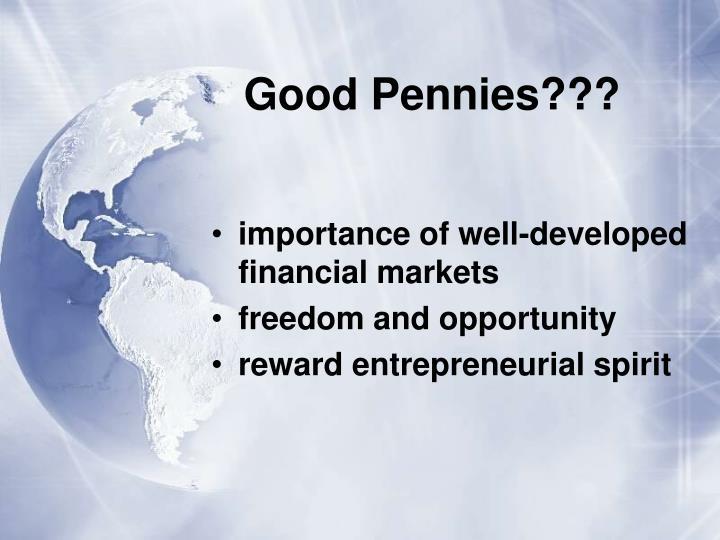 Good Pennies???