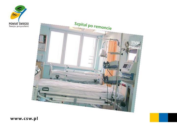Szpital po remoncie