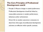 the core principles of professional development cont d3