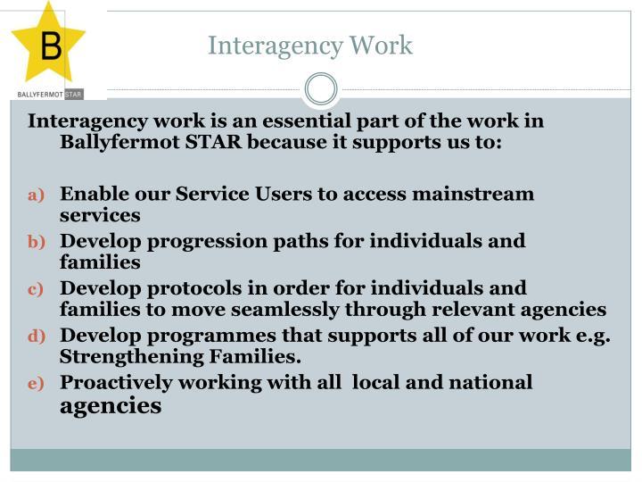Interagency Work