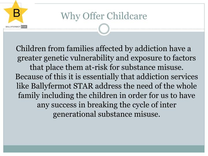 Why Offer Childcare