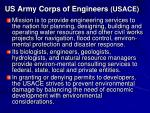 us army corps of engineers usace