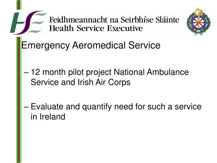 Emergency Aeromedical Service