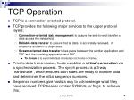 tcp operation