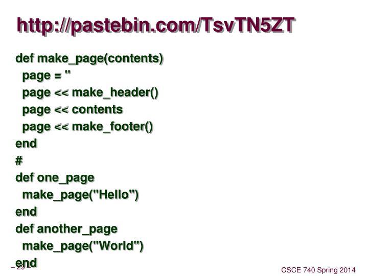 http://pastebin.com/TsvTN5ZT