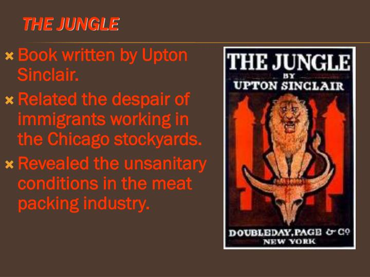essays about the jungle by upton sinclair The jungle by upton sinclair, and how it captures the zeitgeist of the early 1900's sinclair captures the main element of the zeitgeist of the time, the mindset of the immigrant workers coming to america because they want a piece of the american dream.