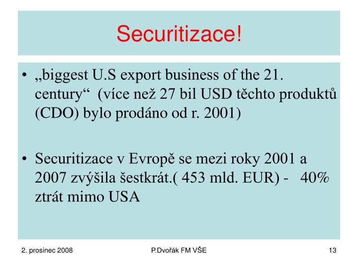 Securitizace!