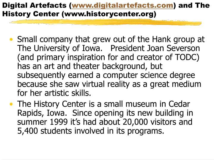 Digital Artefacts (