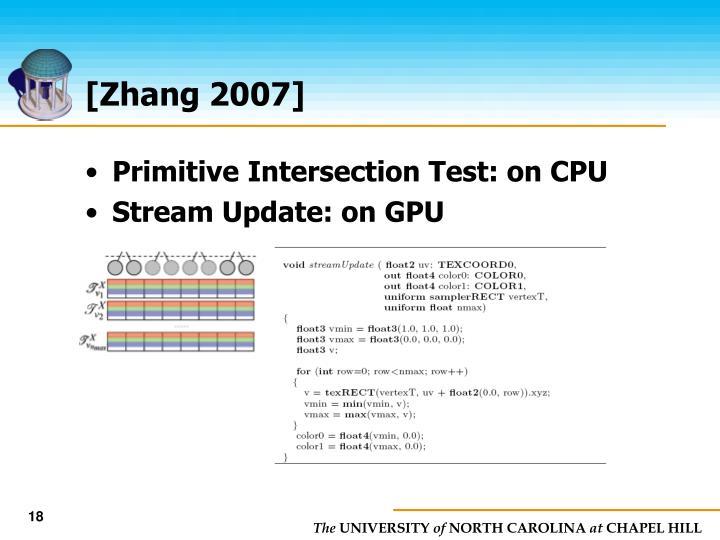 [Zhang 2007]