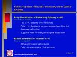 utility of epilepsy video eeg monitoring units emu epilepsy