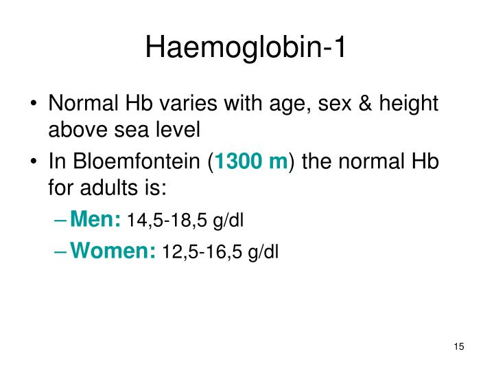 Haemoglobin-1