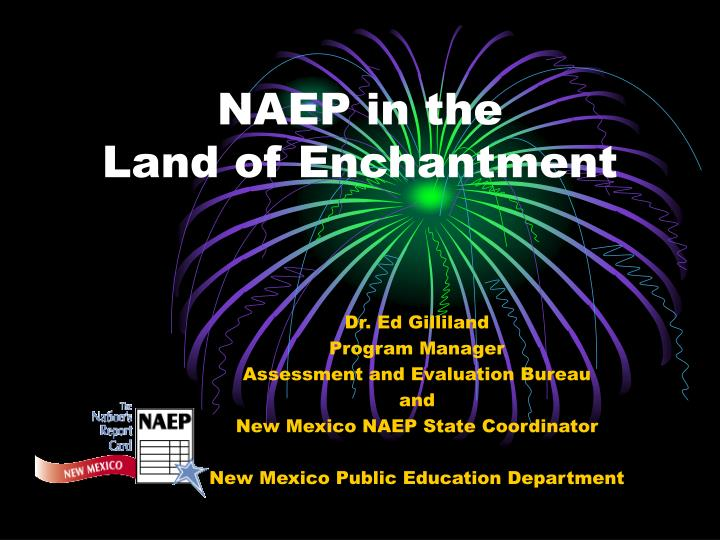 naep in the land of enchantment n.