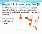 grade 12 state level naep