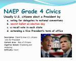 naep grade 4 civics