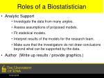 roles of a biostatistician2