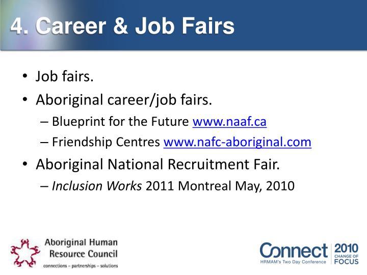 4. Career & Job Fairs