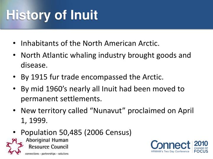 History of Inuit