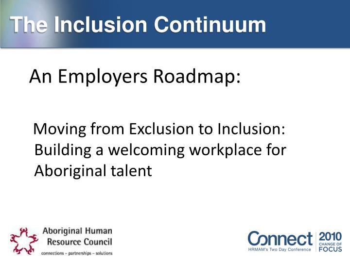 The Inclusion Continuum