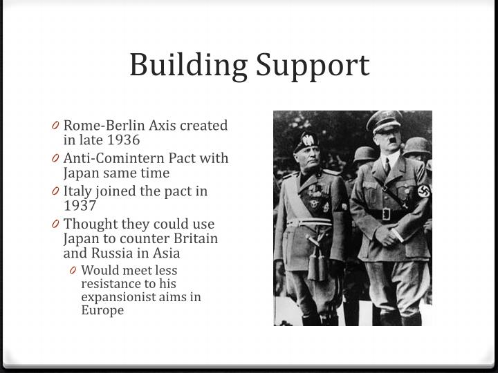 Building Support